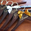 Gold Elegance Wedding Hangers