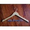 personalized wedding hanger
