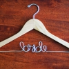 MAPLE finish Bride Hanger