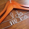 i do me too wedding hanger set