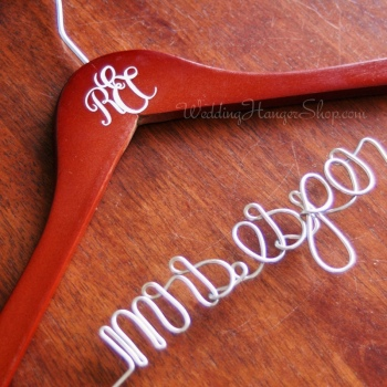 Wedding Monogram Hanger